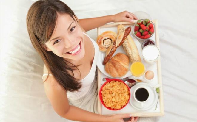 Thực đơn hấp dẫn cho bữa sáng dinh dưỡng rất tốt cho sức khỏe
