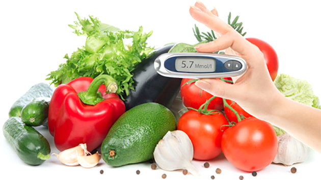 Chế độ ăn phù hợp cho người bệnh tiểu đường
