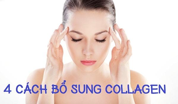 4 cách bổ sung collagen cho cơ thể