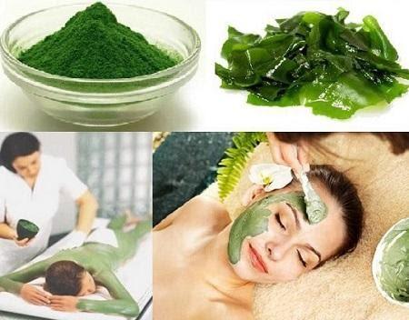 Mặt nạ tảo xoắn spirulina – công thức làm đẹp gối đầu của nhiều phụ nữ Nhật – Hàn.