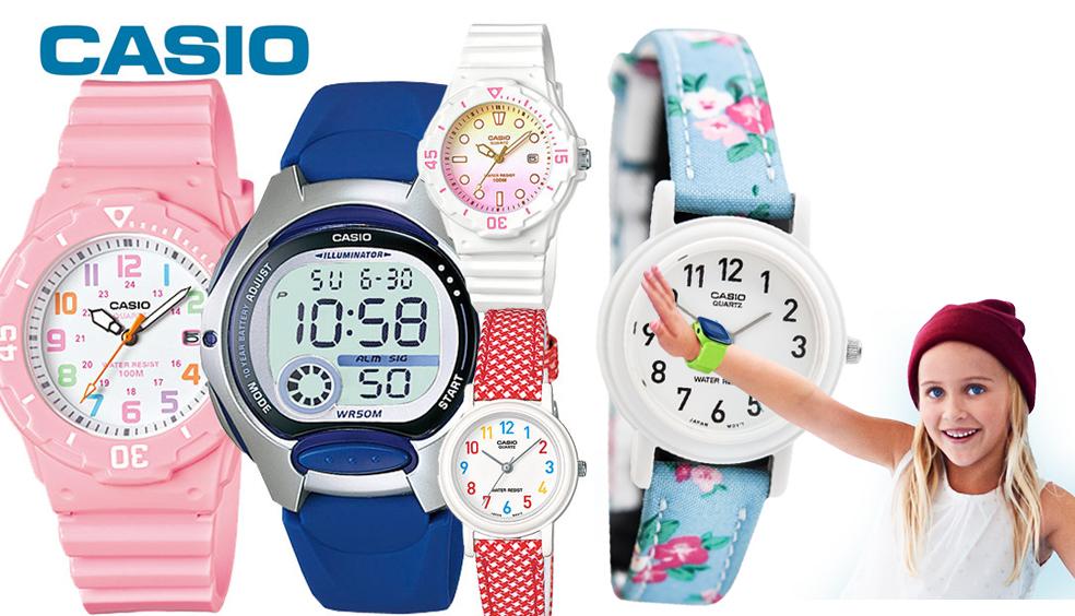 Điều gì làm nên sức hút của đồng hồ trẻ em Casio?
