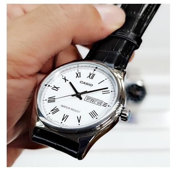 Gợi ý đồng hồ Casio nam dây da cho người mới bắt đầu