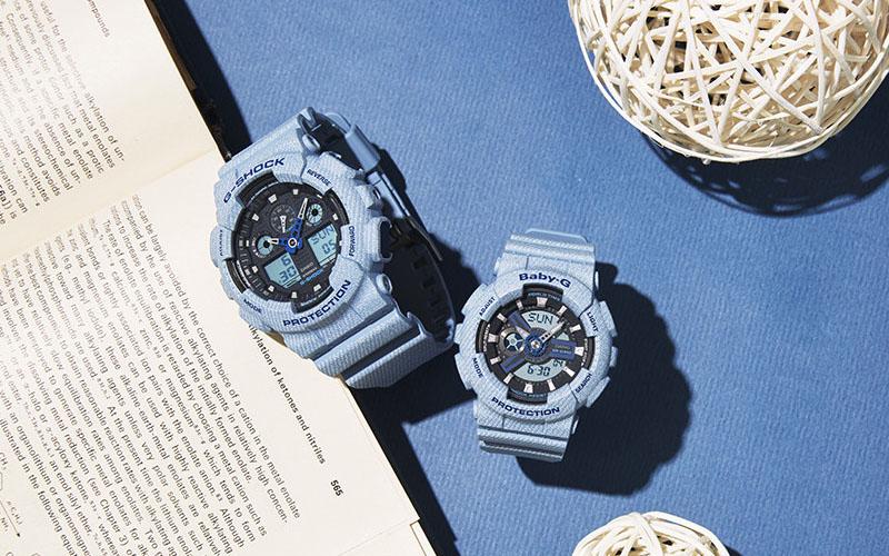 Vì sao nên chọn đồng hồ đôi   G-Shock Baby-G Casio cho cặp người yêu có cùng sở thích thể thao