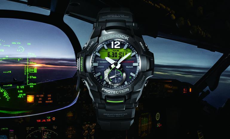 3 mẫu đồng hồ chính hãng Casio   thích hợp nhất cho phi công